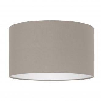 EGLO 39359 | Nadina-1 Eglo búra lámpabúra kerek E27 taupe
