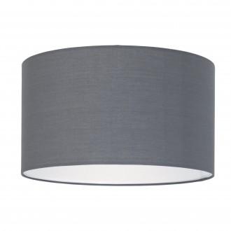 EGLO 39361 | Nadina-1 Eglo búra lámpabúra kerek E27 szürke