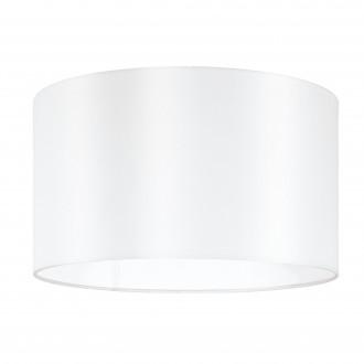 EGLO 39363 | Nadina-1 Eglo búra lámpabúra kerek E27 fehér