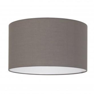 EGLO 39364 | Nadina-1 Eglo ernyő lámpabúra E27 matt barna