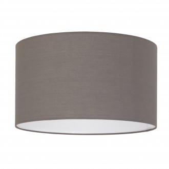 EGLO 39364 | Nadina-1 Eglo búra lámpabúra kerek E27 matt antracit-barna