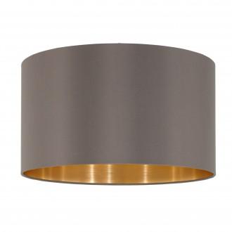 EGLO 39365 | Nadina-1 Eglo búra lámpabúra kerek E27 kapucsínó