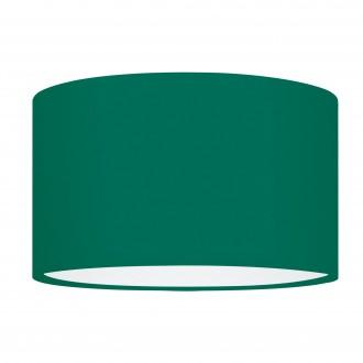 EGLO 39366 | Nadina-1 Eglo búra lámpabúra kerek E27 zöld