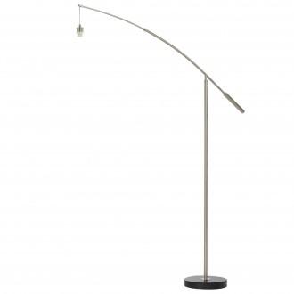 EGLO 39368 | Nadina-1 Eglo álló lámpa - búra nélkül 195cm taposókapcsoló elforgatható alkatrészek 1x E27 matt nikkel