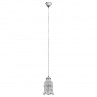 EGLO 49207 | Talbot-1 Eglo függeszték lámpa 1x E27 antikolt szürke