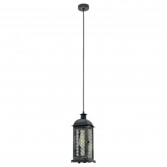 EGLO 49215 | Winsham Eglo függeszték lámpa 1x E27 antikolt zöld