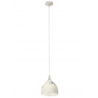 EGLO 49234 | Coretto_3 Eglo függeszték lámpa 1x E27 antikolt fehér