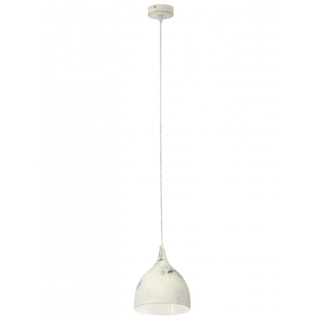 EGLO 49234 | Coretto-3 Eglo függeszték lámpa 1x E27 antikolt fehér
