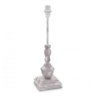 EGLO 49298 | Vintage-1+1 Eglo asztali lámpa - búra nélkül 41,5cm vezeték kapcsoló 1x E14 antikolt taupe