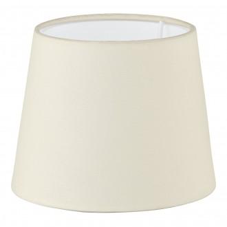 EGLO 49402 | Vintage-1+1 Eglo ernyő lámpabúra E14 / E27 bézs