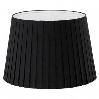 EGLO 49413 | Vintage-1+1 Eglo ernyő lámpabúra E14 fekete