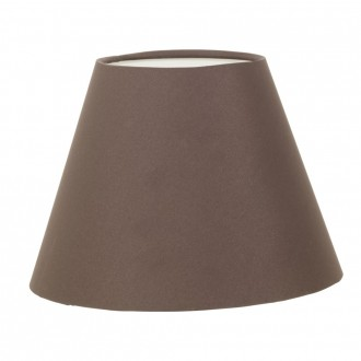 EGLO 49418 | Vintage_1+1 Eglo ernyő lámpabúra E14 barna