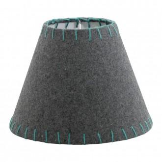 EGLO 49433 | Vintage-1+1 Eglo ernyő lámpabúra E14 szürke, zöld
