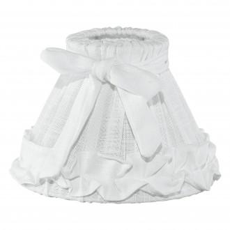 EGLO 49441 | Vintage-1+1 Eglo ernyő lámpabúra E14 fehér