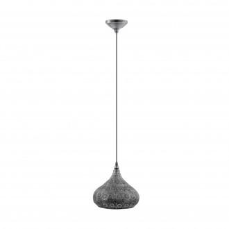 EGLO 49714 | Melilla Eglo függeszték lámpa 1x E27 antikolt ezüst
