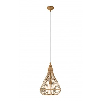 EGLO 49772 | Amsfield Eglo függeszték lámpa 1x E27 barna