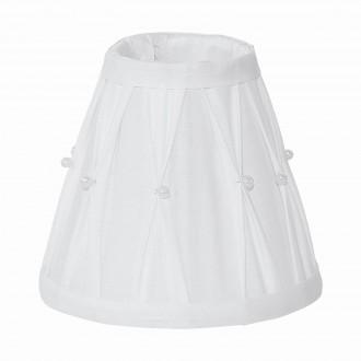 EGLO 49959 | Vintage-1+1 Eglo ernyő lámpabúra E14 / E27 fehér