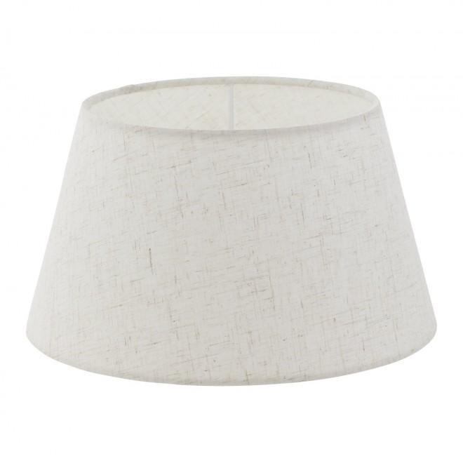 EGLO 49971 | Vintage-1+1 Eglo ernyő lámpabúra E14 / E27 krémszín