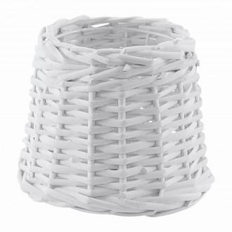 EGLO 49982   Vintage_1+1 Eglo ernyő lámpabúra E14 / E27 fehér