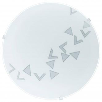EGLO 80263 | Mars Eglo fali, mennyezeti lámpa kerek 1x E27 szatén, fehér