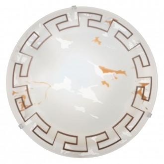 EGLO 82877 | Twister Eglo fali, mennyezeti lámpa 1x E27 opál, antik minta