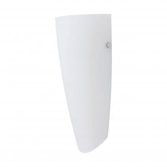 EGLO 83119 | Nemo Eglo fali lámpa 1x E27 matt nikkel, fehér, matt opál