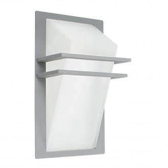 EGLO 83432 | Park Eglo fali lámpa 1x E27 IP44 ezüst, szatén