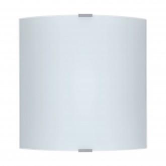 EGLO 84026 | Grafik Eglo fali, mennyezeti lámpa 1x E27 ezüst, szatén