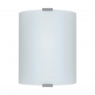 EGLO 84028 | Grafik Eglo fali, mennyezeti lámpa 1x E27 ezüst, szatén, minta