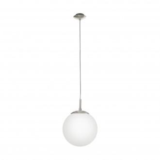 EGLO 85261 | Rondo Eglo függeszték lámpa 1x E27 matt nikkel, matt opál