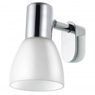 EGLO 85832 | Sticker Eglo fali lámpa 1x E14 króm, fehér