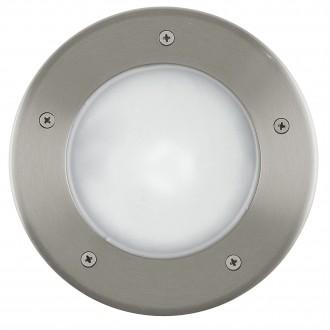 EGLO 86189 | Riga3 Eglo beépíthető lámpa Ø170mm 1x E27 IP67 IK09 nemesacél, rozsdamentes acél, opál