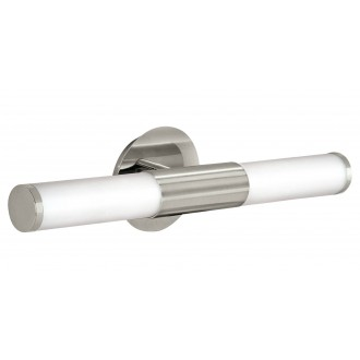 EGLO 87222 | Palmera Eglo fali lámpa 2x E14 IP44 matt nikkel, opál