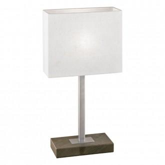 EGLO 87599 | Pueblo1 Eglo asztali lámpa 48cm érintőkapcsoló 1x E14 antikolt barna, fehér