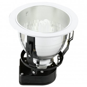 EGLO 87993 | Basic2 Eglo beépíthető - mélysugárzó lámpa Ø190mm 1x E27 fehér