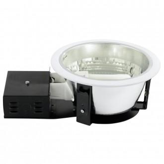 EGLO 87999 | Zano Eglo beépíthető - mélysugárzó lámpa Ø235mm 2x E27 fehér