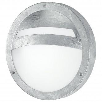 EGLO 88119 | Sevilla Eglo fali, mennyezeti lámpa kerek 1x E27 IP44 cinkezett, fehér, szatén