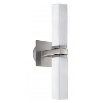 EGLO 88284 | Palermo Eglo fali lámpa 2x G9 IP44 matt nikkel, matt opál