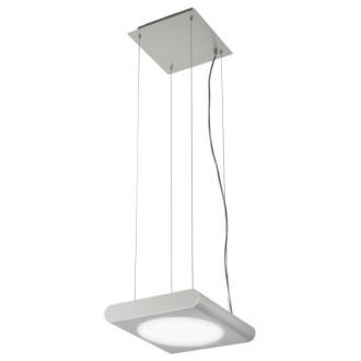 EGLO 88482 | Anais Eglo függeszték lámpa állítható magasság 1x 2GX13 / T5 csiszolt alumínium, fehér