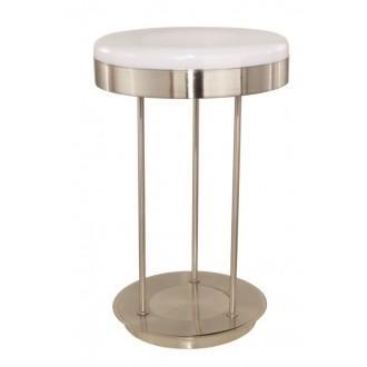 EGLO 88832 | Ringo Eglo asztali lámpa 58cm vezeték kapcsoló 1x 2GX13 / T5 matt nikkel, fehér