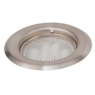 EGLO 88932 | Burn2 Eglo beépíthető lámpa Ø80mm 1x GU10 matt nikkel