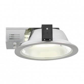 EGLO 89102 | Xara2 Eglo beépíthető - mélysugárzó lámpa Ø235mm 2x G24q-3 / T2U/4P nikkelezett, szatén
