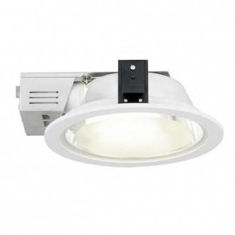 EGLO 89105 | Xara2 Eglo beépíthető - mélysugárzó lámpa Ø235mm 2x E27 fehér, szatén