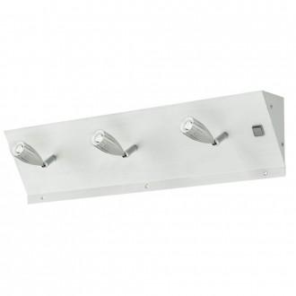EGLO 89218 | Tricala Eglo fali lámpa kapcsoló 3x LED csiszolt alumínium