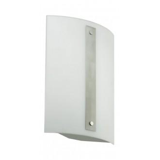 EGLO 89687 | Cony Eglo fali, mennyezeti lámpa 2x G5 / T5 matt nikkel, fehér