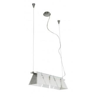 EGLO 89763 | Ximena Eglo függeszték lámpa állítható magasság 5x G9 matt nikkel, szatén