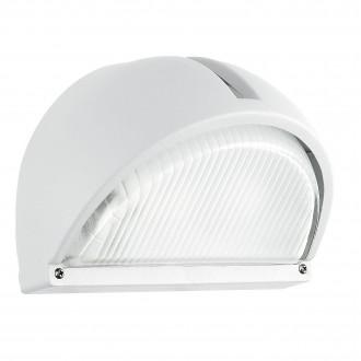 EGLO 89768 | Onja Eglo fali lámpa 1x E27 IP44 fehér, átlátszó