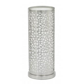 EGLO 90077 | Almera1 Eglo asztali lámpa 29,5cm kapcsoló 1x E27 matt nikkel