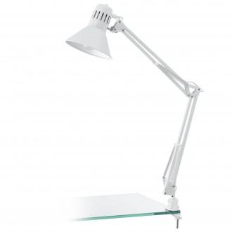 EGLO 90872 | Firmo Eglo satus lámpa kapcsoló elforgatható alkatrészek 1x E27 fényes fehér