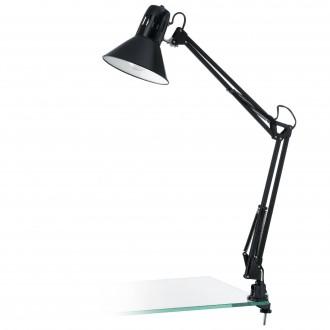 EGLO 90873 | Firmo Eglo satus lámpa kapcsoló elforgatható alkatrészek 1x E27 fényes fekete